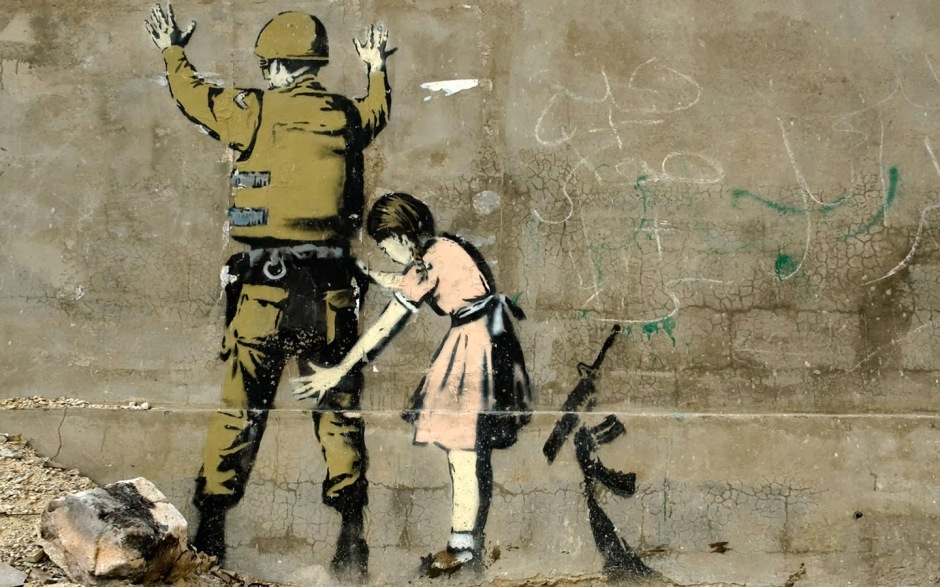 Banksy Laptop Wallpaper